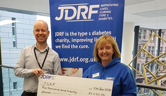 2i Raise Funds For Chosen Charity JDRF
