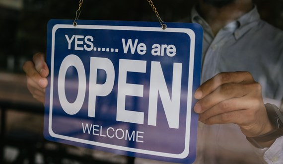 2i – Open for Business